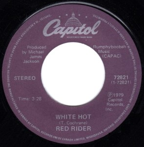 White Hot by Red Rider
