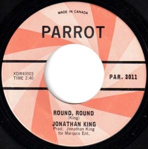 Round Round by Jonathan King