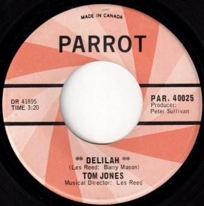 Delilah by Tom Jones