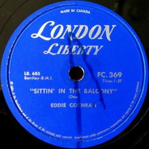 Sittin' In The Balcony by Eddie Cochran