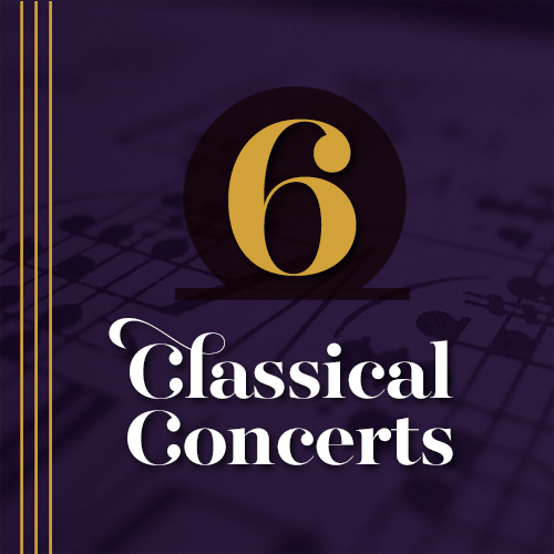 6 Classical Concerts Package