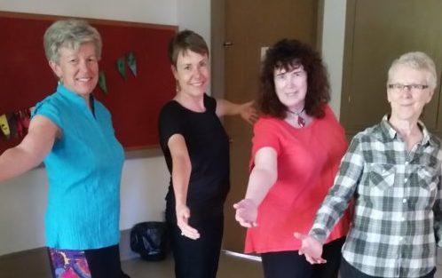 Circle Dance Basics - August