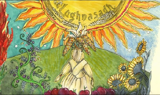 Celebrate Lammas at the August Earth Spirit Circle