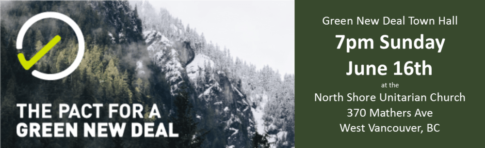 North Shore Unitarians are hosting a Green New Deal Town Hall