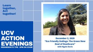 "Action Evenings - ""Eco Friendly Endings: The Green New Deal of Deathcare"""