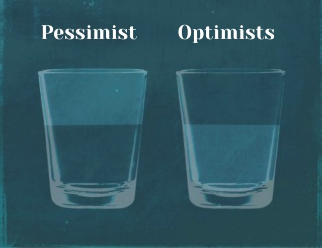 Pessimists Vs optimists