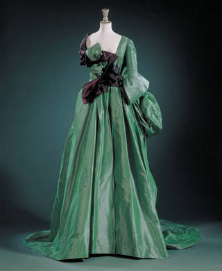 Informative Image of Vivienne Westwood Watteau Evening Dress