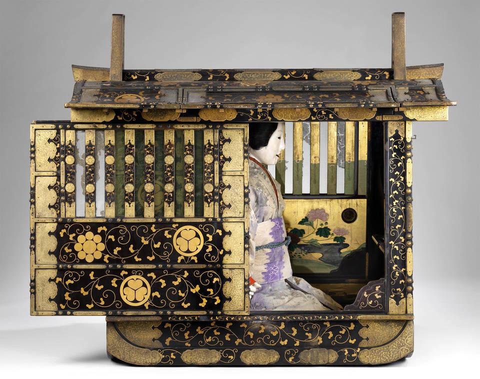 VA  Conservation of a Japanese palanquin