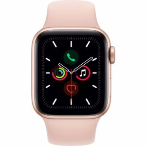 Apple Watch Series 5 GPS 40mm (Goud) Sportband