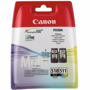 Canon cartridge PG-510 en CL-511 Multipack