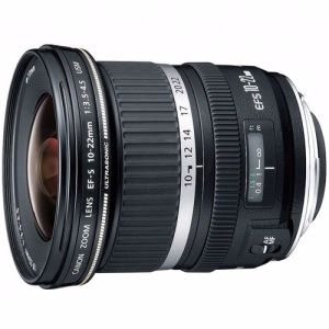 Canon objectief EFS10-22mm F/3.5-4.5 USM