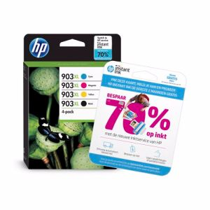 HP cartridge 903 XL multi-pack (zwart + kleur)