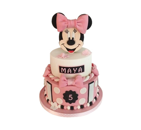 Minnie Mouse 3D taart