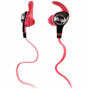 Monster hoofdtelefoon iSport Intensity (roze)