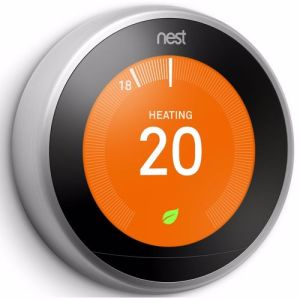 Nest Thermostat 3rd Gen (Zilver)