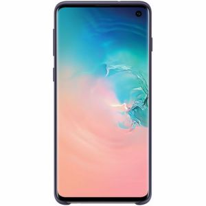 Samsung telefoonhoesje Silicone Cover Galaxy S10+ (Donkerblauw)