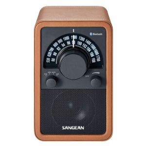 Sangean radio WR-15BT BROWN LEDER