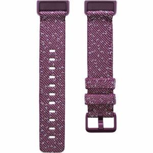 Fitbit Charge 4 gewoven bandje Small (Paars)