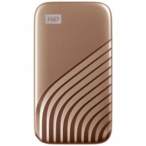 Western Digital externe SSD 1 TB My Passport (Goud)