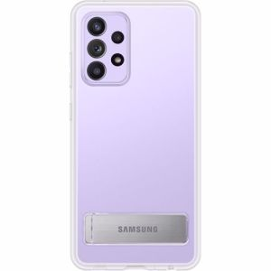 Samsung telefoonhoesje A52 standing cover (Transparant)