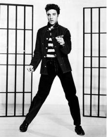 Elvis Presley in 1957