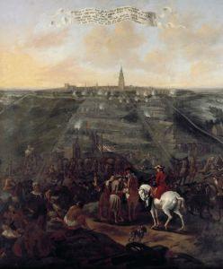 Het beleg van Groningen in 1672, door Folkert Bock