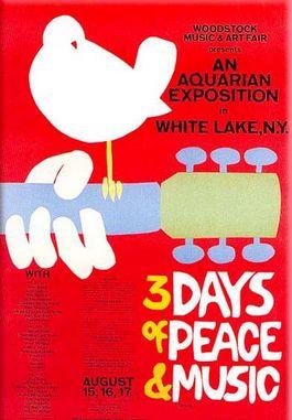 Poster voor Woodstock