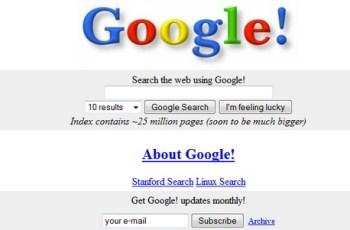 Eerste Google-pagina