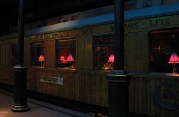 Restauratierijtuig van de Oriënt-Express in het Nederlands Spoorwegmuseum (CC BY-SA 3.0 - wiki - Marion Golsteijn)