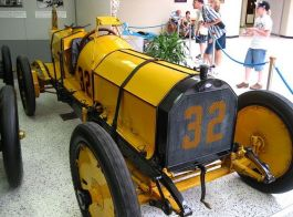 De Marmon Wasp waarmee Ray Harroun in 1911 de eerste 'Indianapolis 500' won - Foto: CC/The359