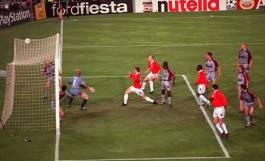 Manchester United verslaat Bayern München in extremis
