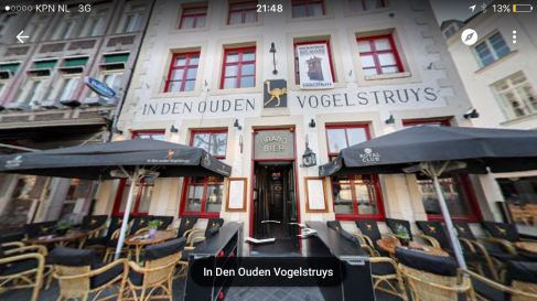 Having drinks, enjoying the music and having fun at one of the cafe's at Vrijthof(not this one)