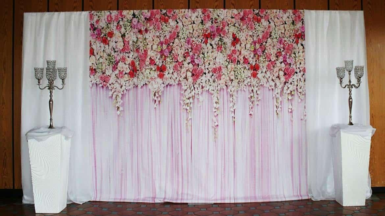 Fotowand Hintergrund fr Hochzeit Geburtstag Fotobox