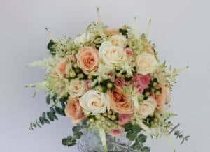 Hochzeit Blumen  Blumenstrau nach Jahreszeiten