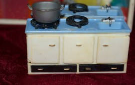 Blue Box kitchen stove
