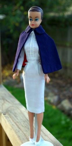 Fashion Queen Barbie 1963 in Registered Nurse.