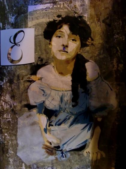 Evelyn Nesbit by Btoy, based on a portrait by Gertrude Käsebier