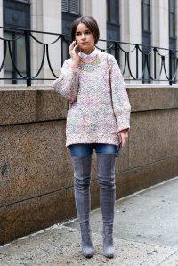 Miroslava-Duma-added-some-serious-wow-factor-soft-sweater