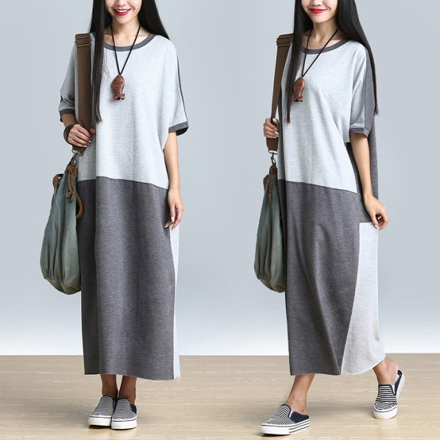 women-plus-size-robe-maxi-long-dress-cotton-slong-skirt