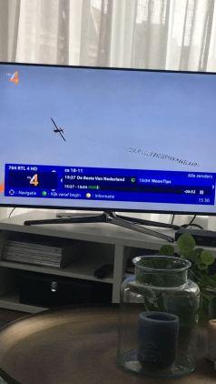 Luchtreclame op TV