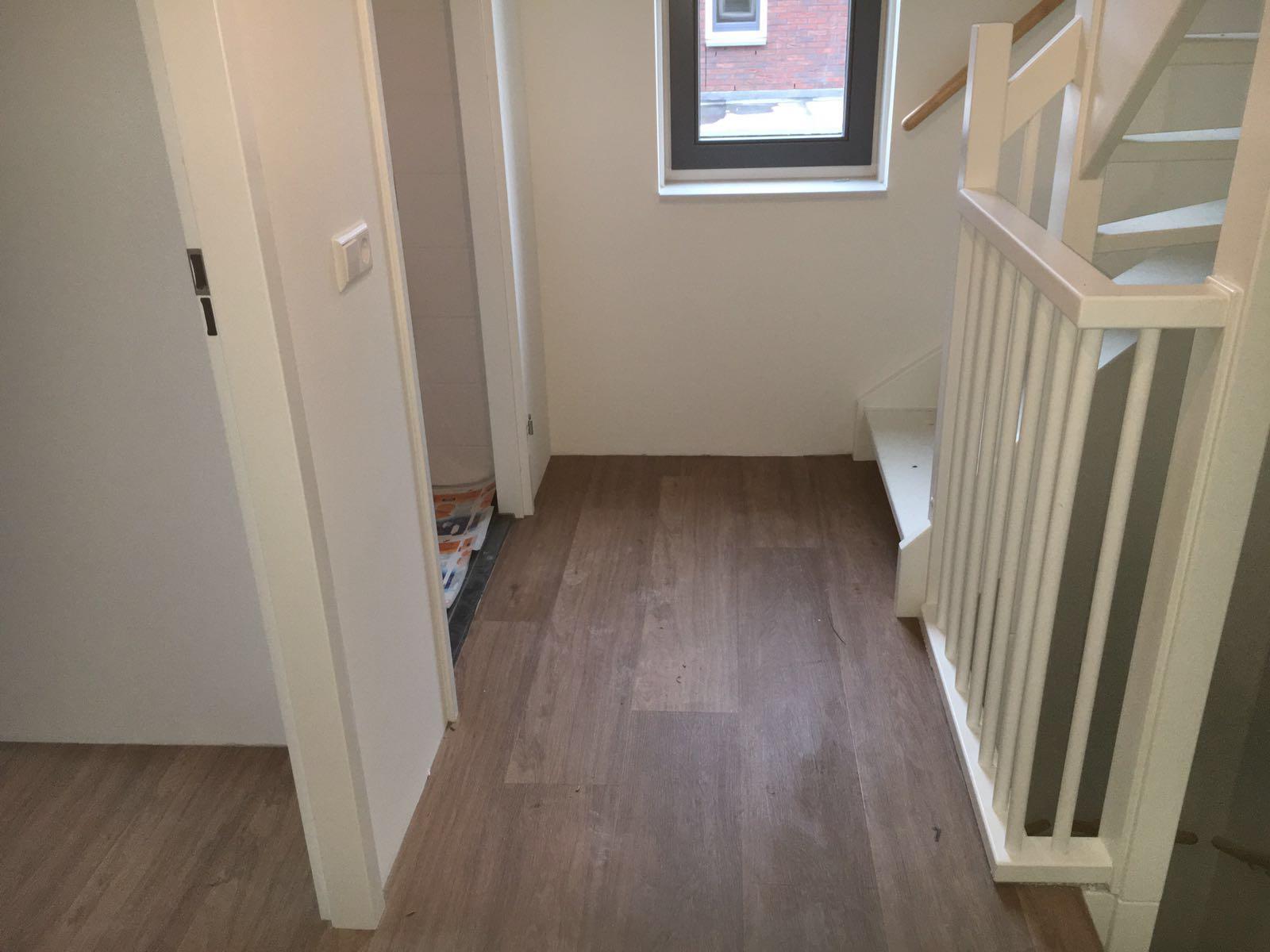 PVC vloer en trap bekleed in Mijdrecht  Van den Berg Vloeren