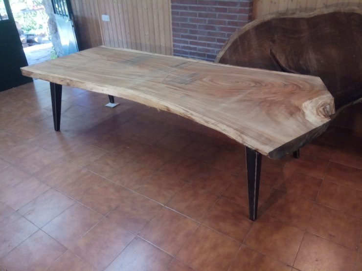 Custom rustic table.