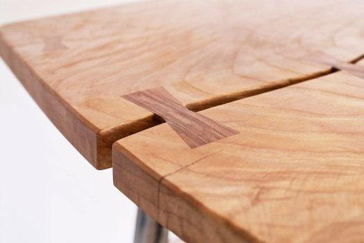 Custom dining table detail