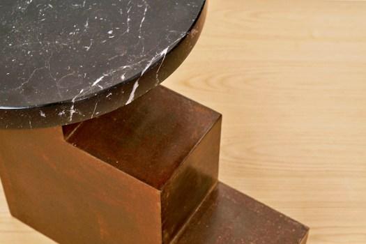 mesa auxiliar metal