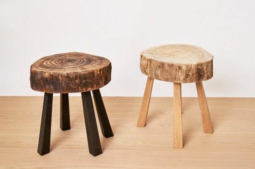 mesita de madera