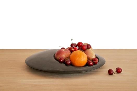 frutero arte en la mesa