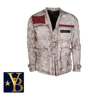 leather pilot's jacket
