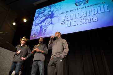 Vanderbilt Bowl Celebration December 4, 2016.