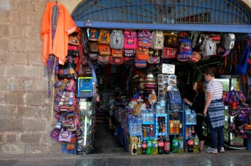 Touri-Shop in Cusco
