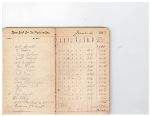 1887 Wage Book Example